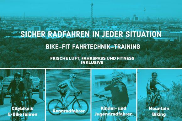 Sicher Radfahren in jeder Situation mit der Bike-Schule RiderRacer.com in Berlin